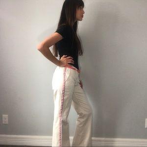 Y2k Express chino pants w/ stripe detail